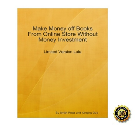 Product picture Make Money off Books From LULU Without Money Investment